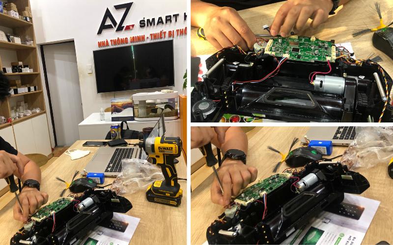 Sửa chữa robot hút bụi Đà Nẵng